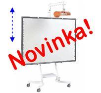 Elektricky ovládaný zvedací stojan pro interaktivní tabule