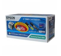 Tonerová cartridge Epson AcuLaser C1100/1100N/CX11N/11NF/11NFC, CMYK, C13S050268, 4000/1500s, 17% úspora,O