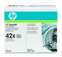 Tonerová cartridge HP LaserJet 4250, 4350, black, Q5942XD, 40000 (2x20000)s, 42X, high capacity, dual pack, O
