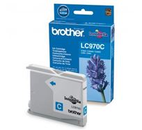 Inkoustová cartridge Brother DCP-135C, 150C, MFC-235C, 260C, LC-970C, cyan, 300s, O