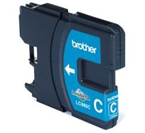 Inkoustová cartridge Brother DCP 145C / DCP165C, LC-980C, cyan, O