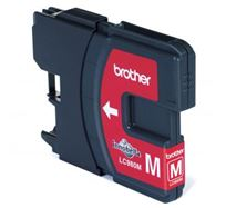 Inkoustová cartridge Brother DCP 145C / DCP165C, LC-980M, magenta, O