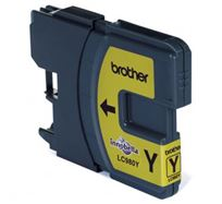 Inkoustová cartridge Brother DCP 145C / DCP165C, LC-980Y, yellow, O