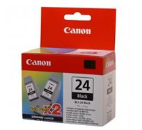 Inkoustová cartridge Canon S200, S300, i450, MPC-200, 190, iP2000, BCI24B, black, 6881A009, 2 ks, O