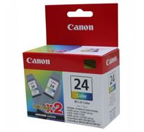 Inkoustová cartridge Canon S200, S300, i320, i450, MPC-200, 190, BCI24C, color, 6882A009, 2 ks, O