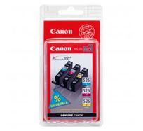 Inkoustová cartridge Canon Pixma MG5150, MG5250, MG6150, MG8150, CLI526 CMY, CMY, 4541B009AA/4541B006AA, 340s, O