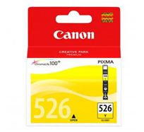 Inkoustová cartridge Canon Pixma MG5150, MG5250, MG6150, MG8150, CLI526Y, yellow, 4543B001AA, 9ml, O