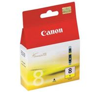Inkoustová cartridge Canon iP4200, iP5200, iP5200R, MP500, MP800, CLI8Y, yellow, 0623B001, 13 ml, 420s, O
