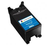 Inkoustová cartridge Dell V313, V313W, 592-11329, color, Serie 22, X7738N, 340s, vysoká kapacita, O