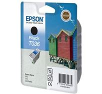 Inkoustová cartridge Epson Stylus C42UX / 46, C13T036140, black, 1*10ml, 330s, O