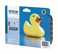 Inkoustová cartridge Epson Stylus Photo RX425, 420, C13T055640AO, CMYK, 15% úspora, O