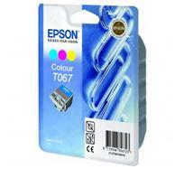 Inkoustová cartridge Epson Stylus C48, C13T067040, color, 1*25ml, 220s, O