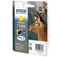 Inkoustová cartridge Epson Stylus Office BX320FW, C13T13044010, žlutá, T1304, 10,1 ml, 765s, DURABrite, O