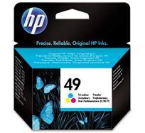 Inkoustová cartridge HP DeskJet 350, 610, 640, 660, 690, 890, OJ-500, 700, 51649AE, color, No.49, 22,8ml, 350s, O