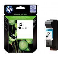 Inkoustová cartridge HP DeskJet 810, 840, 843c, PSC-750, 950, OJ-V40, C6615DE, black, No.15, 25ml, 500s, O