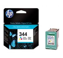 Inkoustová cartridge HP Photosmart 385, 335, 8450, DJ-5940, 6840, 9800, C9363EE, color, No.344, 14ml, 580s, O