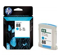 Inkoustová cartridge HP OfficeJet Pro K5400, L7580, L7680, L7780, C9386AE, cyan, No.88, 9ml, 620s, O