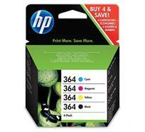 Inkoustová cartridge HP Combo-pack,B8550,C5380,D5460, SD534EE, cyan/magenta/yellow/black, No.364 Combo pack, O