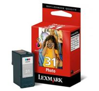 Inkoustová cartridge Lexmark Z815, Z816, Z818, X5250, 5260, P915, P6250, 18C0031E, photo, #31, O