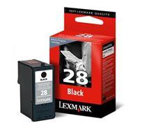 Inkoustová cartridge Lexmark Z845, P350, Z1300, Z1320, 18C1428E, black, #28, return, O