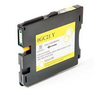 Gelová náplň Ricoh GX3000, 3050N, 5050N, 405539, yellow, typ GC-21HY, 2300s, O