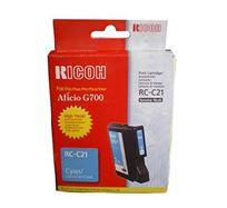 Gelová náplň Ricoh G700, 402279, cyan, typ RC-C21, 2300s, O