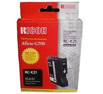 Gelová náplň Ricoh G700, 402280, black, typ RC-K21, 3000s, O