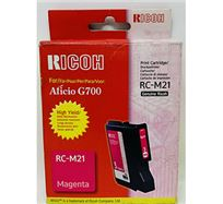 Gelová náplň Ricoh G700, 402278, magenta, typ RC-M21, 2300s, O