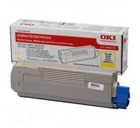 Toner OKI C5850, 5950, MC560, MC560n, MC560dn, yellow, 43865721, 6000s, O