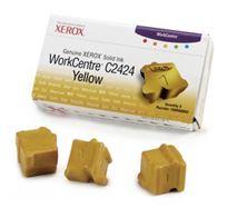 Tuhý inkoust Xerox WorkCentre C2424 Malibu, yellow, 108R00662, 3400s, 3 ks, O