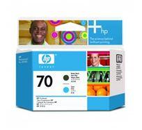 Tisková hlava HP Photosmart Pro B9180, Designjet Z2100, Z3100, C9404A, matte black/cyan, No.70, O