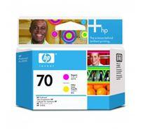 Tisková hlava HP Photosmart Pro B9180, Designjet Z2100, Z3100, C9406A, magenta/yellow, No.70, O